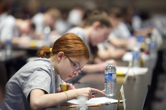 En tout, 27 élèves de septième année ont... (Martin Roy, LeDroit)