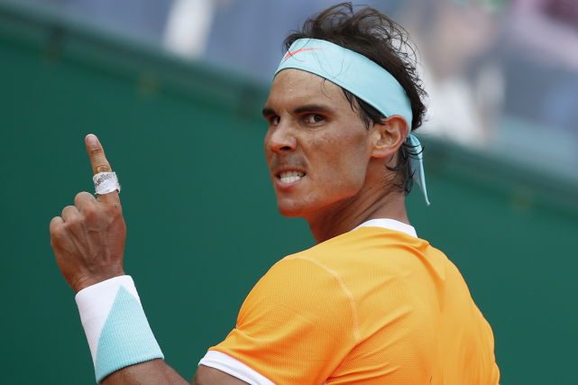 Rafael Nadal... (Photo Jean-Christophe Magnenet, archives AFP)
