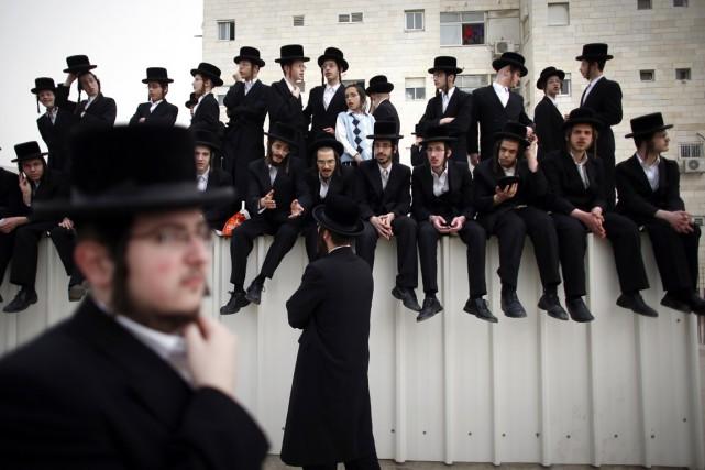 L'État israélien finance à 75% le système éducatif... (PHOTO THOMAS COEX, ARCHIVES AFP)