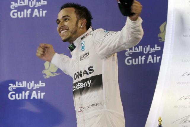 Lewis Hamilton s'est imposé au terme d'un Grand... (Associated Press)
