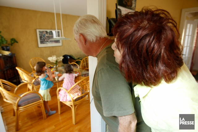 Les grands-parents du Québec se disent engagés auprès de leurs petits-enfants,... (Archives La Presse)