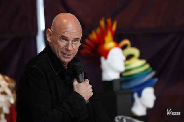 Le fondateur du Cirque, Guy Laliberté, conservera une... (PHOTO HUGO-SÉBASTIEN AUBERT, LA PRESSE)