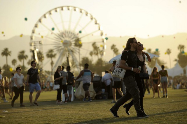 Le festival Coachella, en Californie.... (Photo: AP)