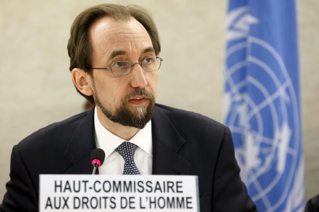 Le Haut-Commissaire de l'ONU aux droits de l'Homme,... (Archives AP)