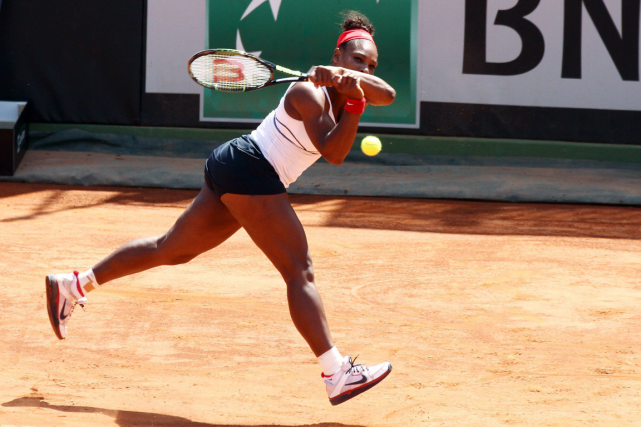 Serena Williams a participé au duel de la Fed... (Photo Felice Calabro, AP)