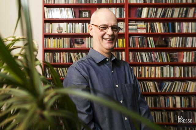 Claude Rajotte animera mardi soir sa dernière émission sur MusiMax. L'animateur... (PHOTO HUGO-SÉBASTIEN AUBERT, ARCHIVES LA PRESSE)