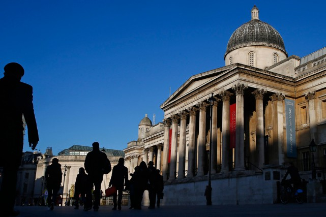 La National Gallery à Trafalgar Square... (PHOTO EDDIE KEOGH, ARCHIVES REUTERS)