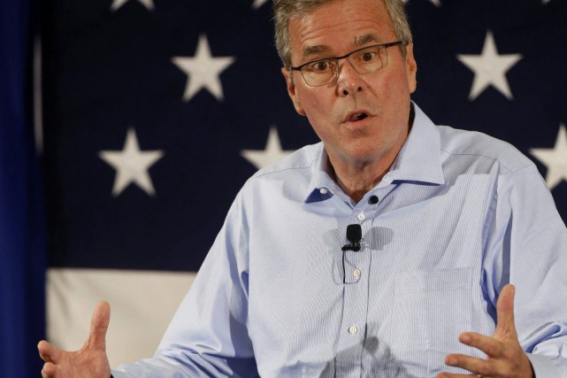 Jeb Bush... (PHOTO JIM COLE, ASSOCIATED PRESS)
