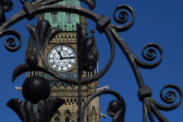 Un député libéral a retiré, dimanche, sa candidature pour devenir président de... (Photo archives La Presse Canadienne)