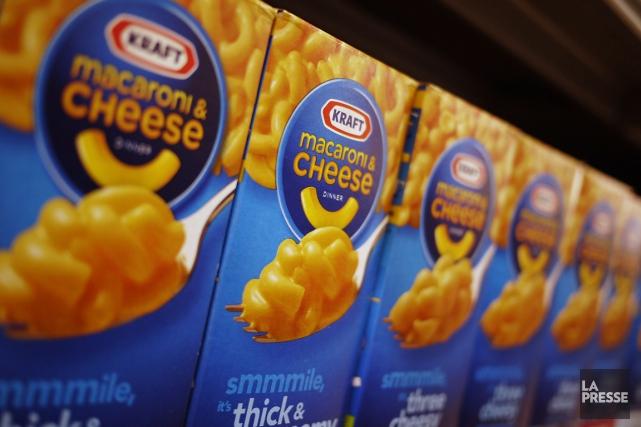 Kraft avait indiqué en janvier que son macaroni... (Photo Reuters)