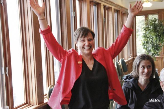 Catherine Lusson... (Photo La Voix de l'Est)