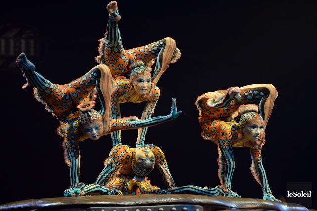 Rappelant que le Cirque du Soleil a vu... (Photo Érick Labbé, archives Le Soleil)