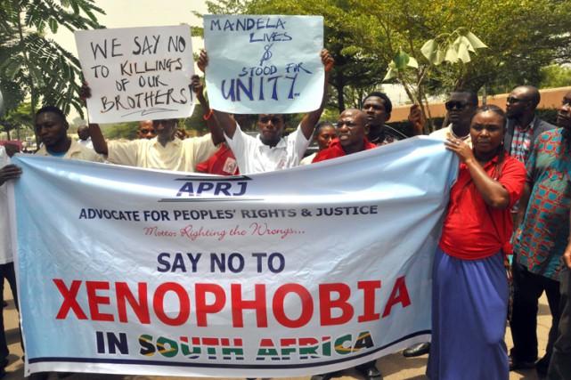 Les États-Unis ont condamné lundi la vague de violences xénophobes qui sévit en... (Photo: AFP)