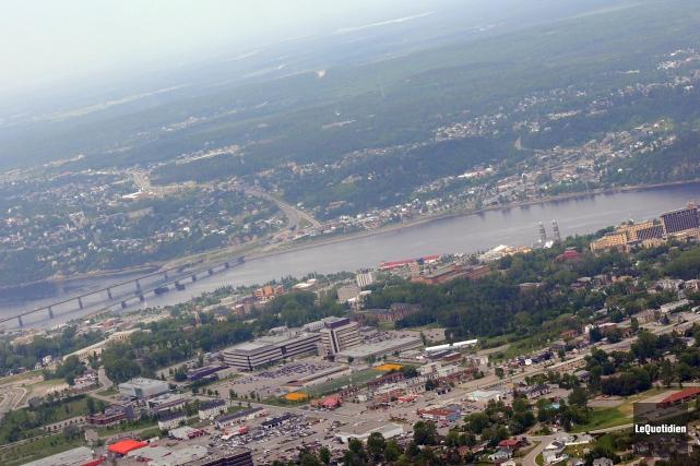 (Récemment), Saguenay a mobilisé la radio, la télévision... ((Archives Le Quotidien))
