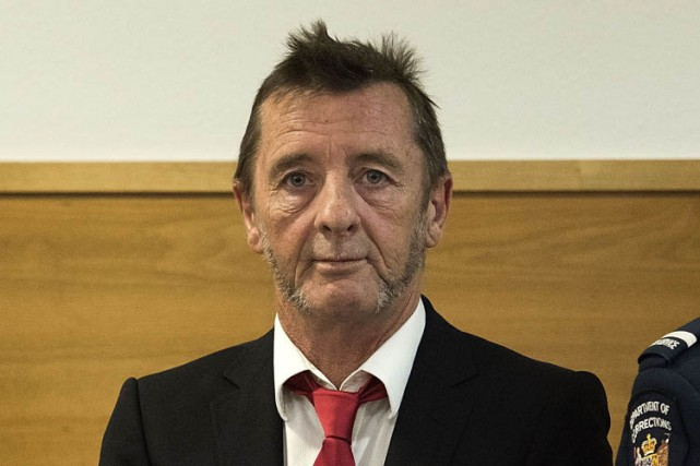 Phil Rudd... (Photo: AFP)