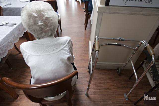 «Avec neuf patients pour un préposé, c'est sûr... (Photothèque La Presse, François Roy)