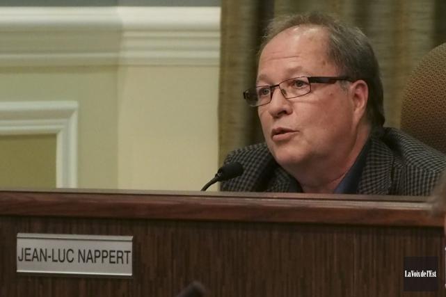 Le conseiller municipal Jean-Luc Nappert milite pour que... (photo archives La Voix de l'Est)