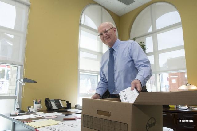 Le directeur général d'IDE Trois-Rivières, Yves Marchand, tire... (Photo: Stéphane Lessard Le Nouvelliste)