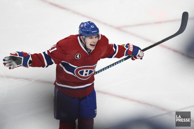 Brendan Gallagher.... (Photo: La Presse)