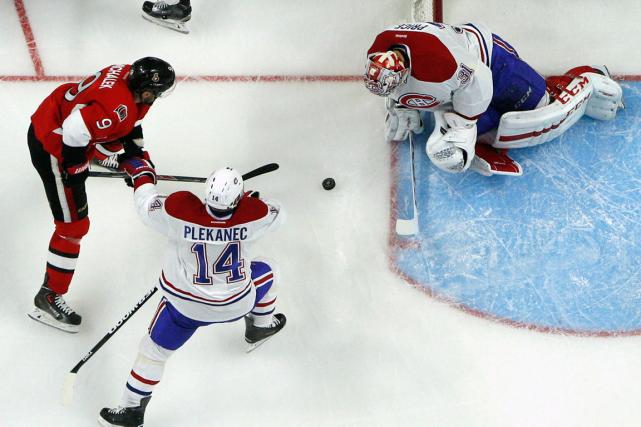Avec une victoire demain, le Canadien réaliserait le... (Photo Jean-Yves Ahern, USA Today)