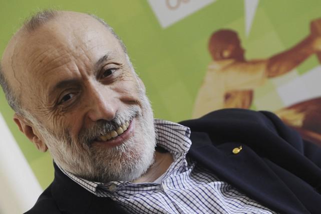 Carlo Petrini, fondateur de Slow Food, donnera une... (PHOTO Tiziana Fabi, AGENCE FRANCE-PRESSE)