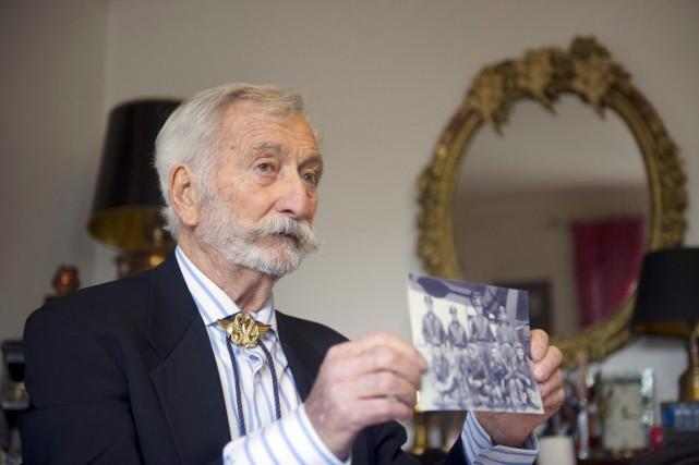 Robert Maloubier est né le 2 février 1923... (PHOTO BERTRAND LANGLOIS, ARCHIVES AFP)