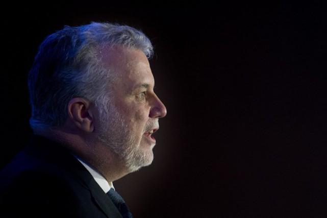 Le premier ministre Philippe Couillard fait valoir que... (PHOTO GRAHAM HUGHES, LA PRESSE CANADIENNE)