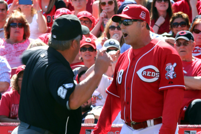 Le gérant des Reds de Cincinnati, Bryan Price.... (Photo Tom Uhlman, AP)