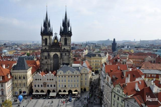 Prague comble les amateurs d'art et d'architecture ainsi... (PHOTO STÉPHANIE MORIN, ARCHIVES LA PRESSE)