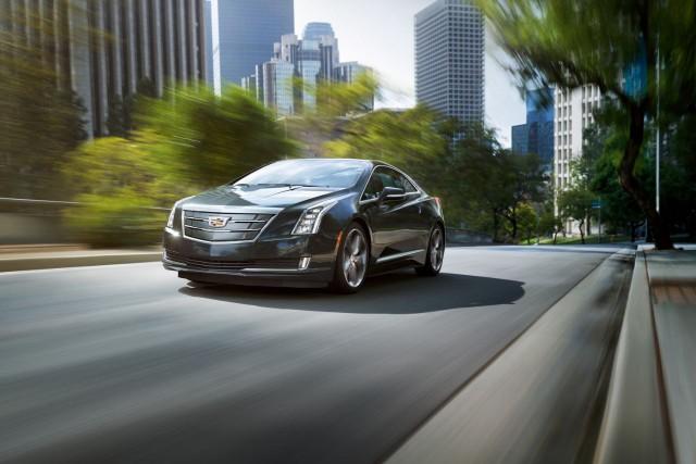La Cadillac ELR 2016... (PHOTO FOURNIE PAR CADILLAC)