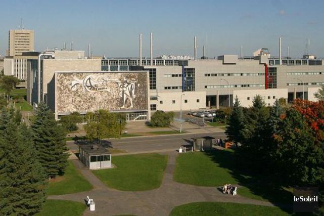 L'Université Laval... (Photothèque Le Soleil, Jocelyn Bernier)