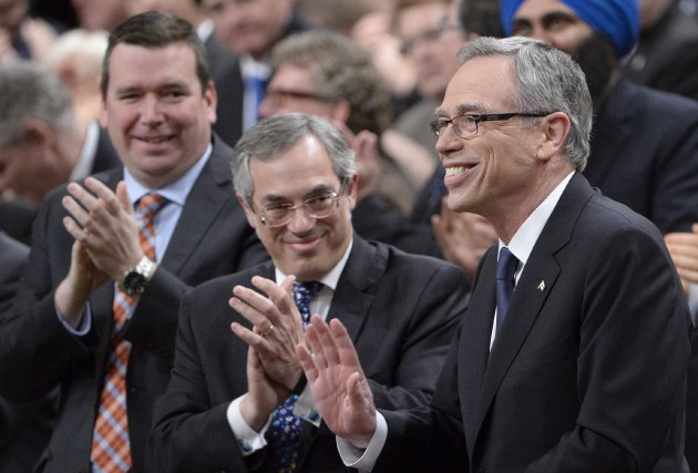 Le ministre fédéral des finances Joe Oliver a... (La Presse Canadienne, Adrian Wyld)