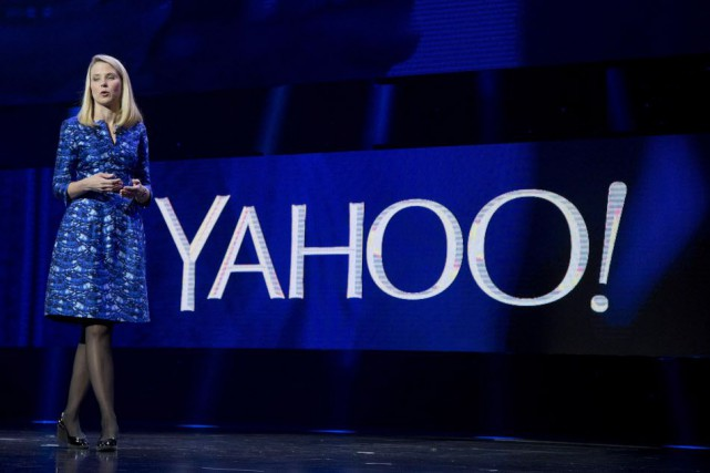 La directrice générale de Yahoo!, Marissa Mayer.... (Photo Julie Jacobson, archives AP)