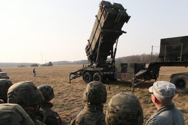 Des soldats polonais et américains ont participé à... (Photo: AP)