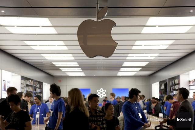 En moyenne, dans le monde, les ventes d'Apple... (Photothèque Le Soleil)