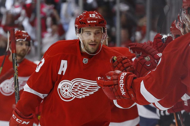 Pavel Datsyuk a remporté le trophée Lady Byng à... (Photo: AP)
