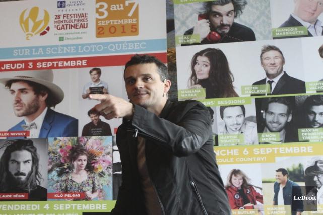 Le porte-parole du FMG, l'animateur et comédien Patrice... (Etienne Ranger, LeDroit)