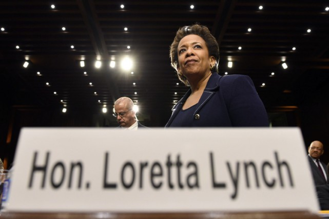 Loretta Lynch attend un vote de confirmation depuis... (PHOTO SUSAN WALSH, ARCHIVES ASSOCIATED PRESS)