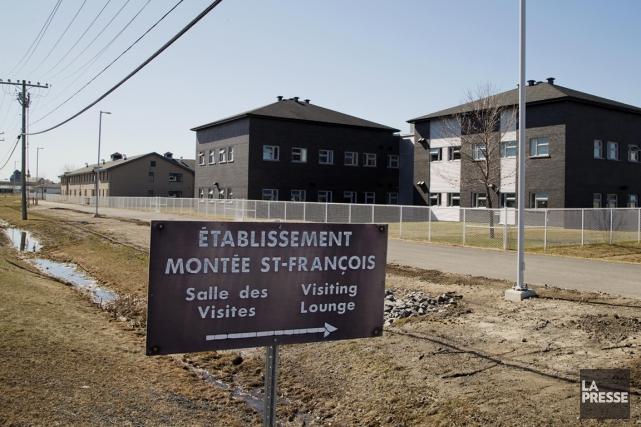 Le centre correctionnel de Laval, où est emprisonné... (PHOTO ALAIN ROBERGE, LA PRESSE)