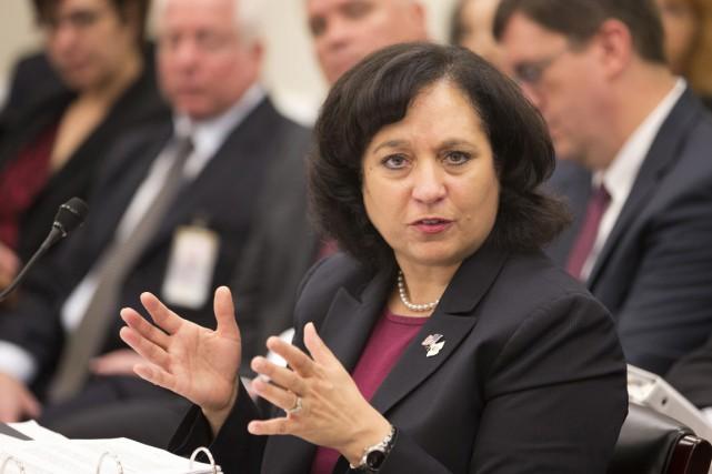 Michele Leonhart, à la tête de la DEA... (PHOTO MANUEL BALCE CENETA, ARCHIVES AP)