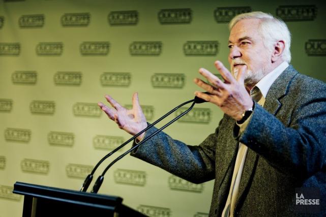 Le directeur du théâtre Duceppe, Michel Dumont, a... (Photo: Marco Campanozzi, La Presse)