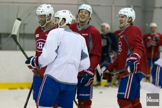 Le Canadien mène 3-0 la série qui l'oppose... (Photo François Roy, La Presse)
