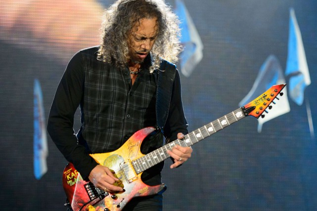 Kirk Hammett... (Photo: archives AFP)