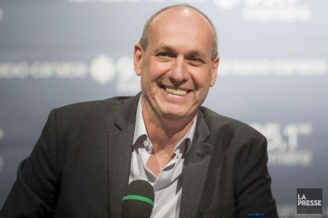 Le journaliste Alain Gravel succédera l'automne prochain à... (Photo: Olivier Pontbriand, La Presse)