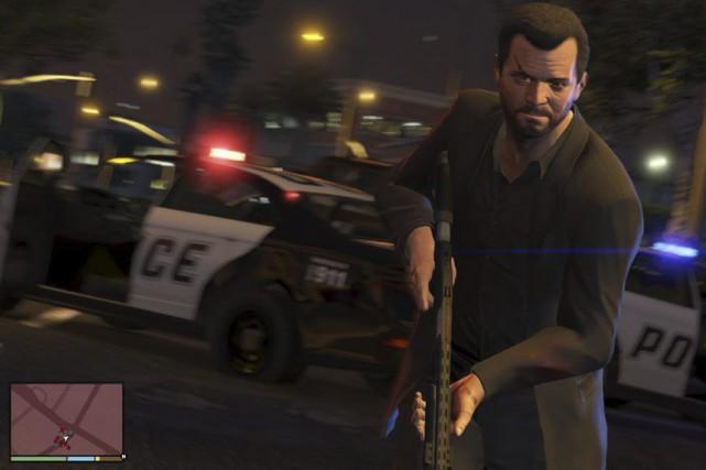 Un homme pourchassé par la police après un...