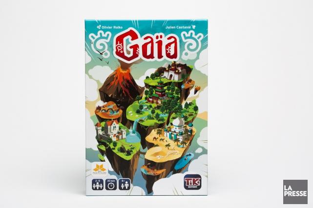 Dans le jeu Gaïa, le hasard l'emporte souvent... (Photo Olivier Pontbriand, La Presse)