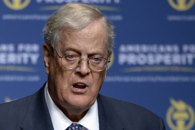 David Koch... (PHOTO PHELAN M. EBENHACK, ARCHIVES AP)