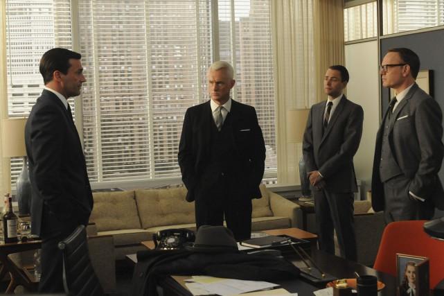Dans l'avant-dernière saison de Mad Men, l'énigmatique Don... (Photo: fournie par AMC)