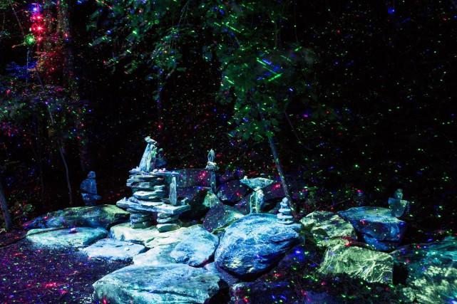 Le Parc de la Gorge de Coaticook prend à nouveau le risque de faire accourir... (Photo tirée de Facebook)