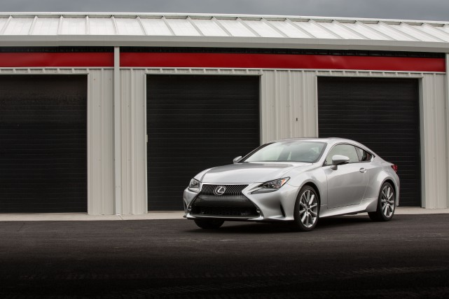 La Lexus Lexus RC 350... (PHOTO FOURNIE PAR LEXUS)